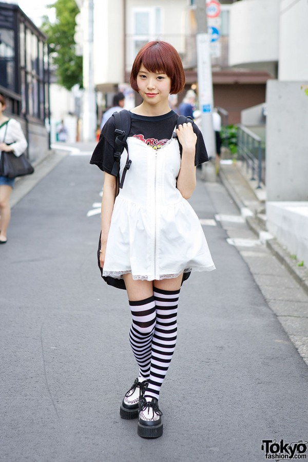 Japanese Model Pochi in Harajuku