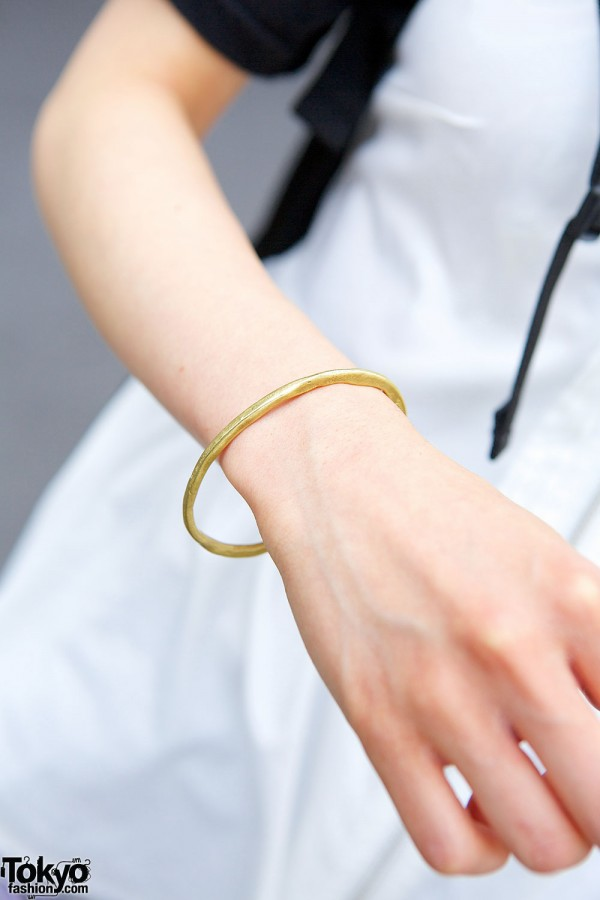 Golden Bracelet in Harajuku