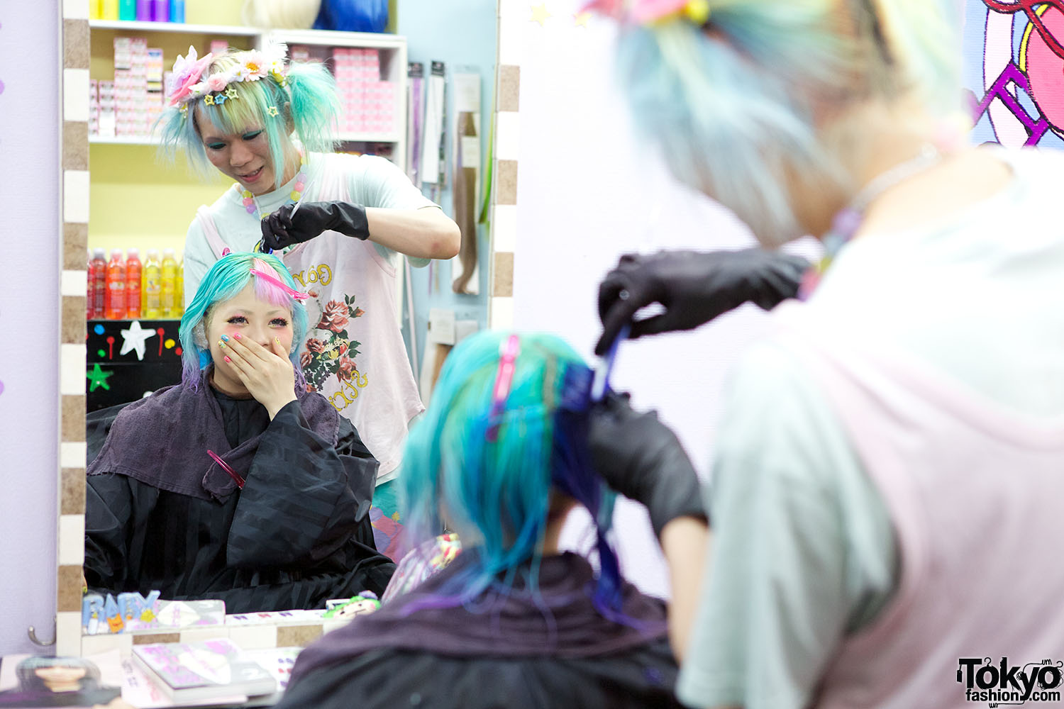 Viva Cute Candy Kawaii Amp Colourful Hair Salon In Tokyo