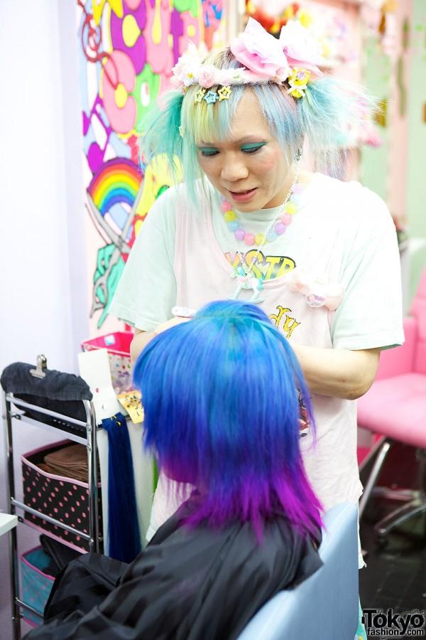 Harajuku Hair Colour Archives Rainbow Hair Colour