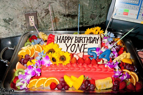 Yasumasa Yonehara 54th Birthday Party Cake