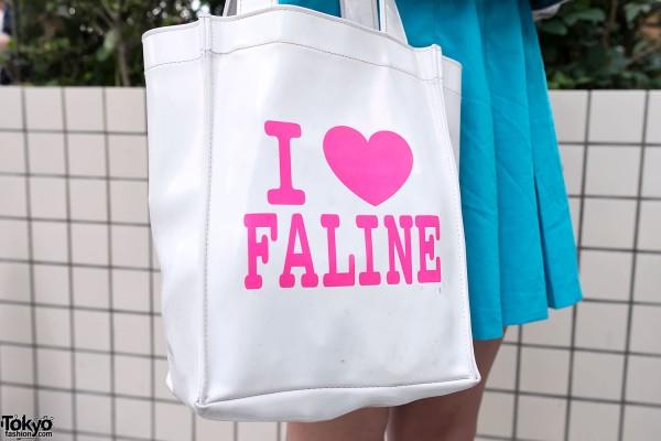 I Love Faline Tokyo Tote Bag