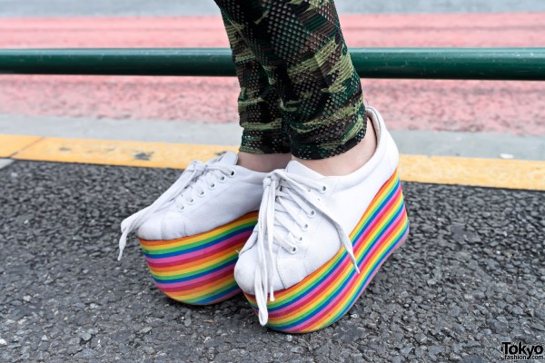 Jeffrey Campbell Rainbow Platforms