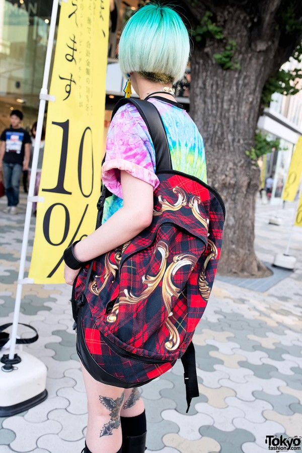 Tie-dye & Cool Backpack in Harajuku