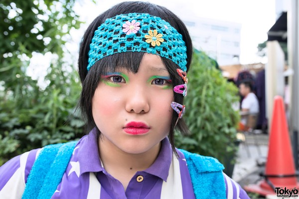 Harajuku Girl Eye Makeup