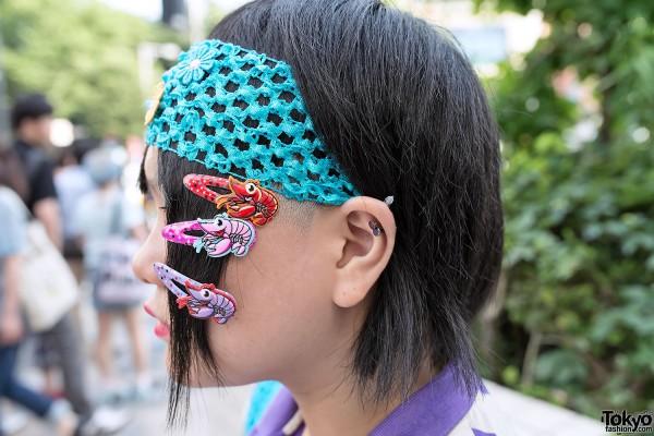Hadeko Hair Clips in Harajuku