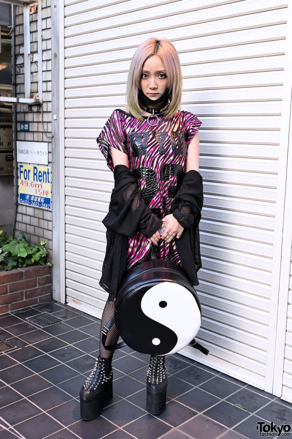 Singer Syuri in Glad News in Harajuku