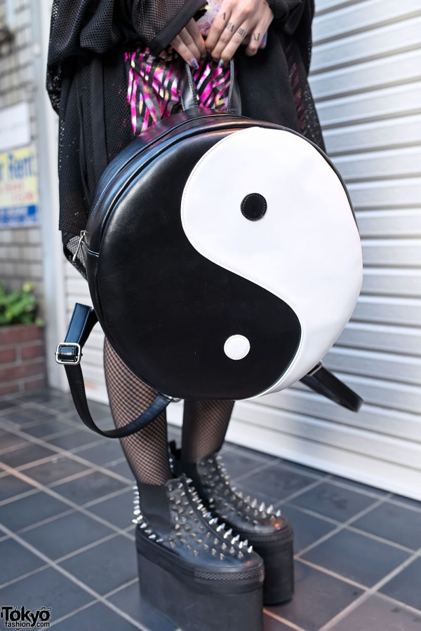 Yin and Yang Backpack