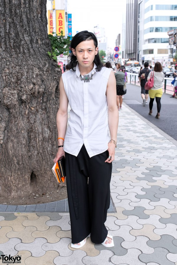 Harajuku Guy in Juun.J & Mawi Accessories