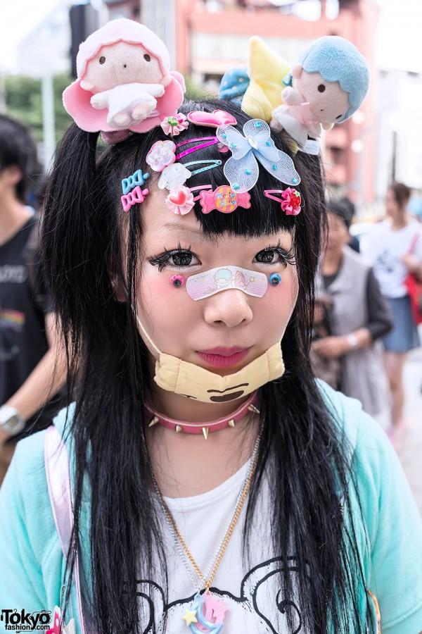 Kawaii Decora Hairstyle