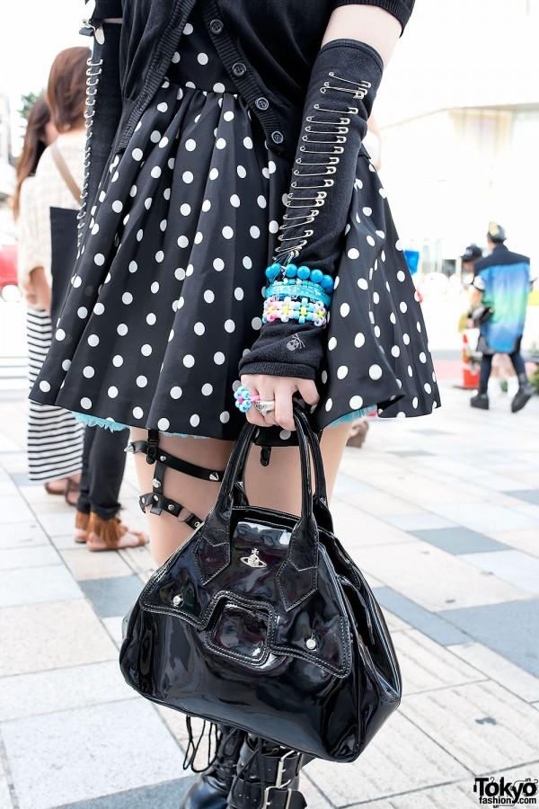 Vivienne Westwood & Spiked Leather Garter