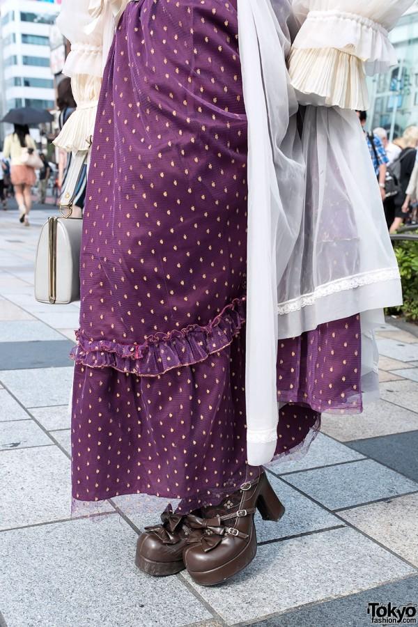 Vintage Dress & Lolita Shoes & Shironuri