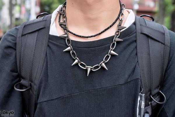 Spike Necklace Harajuku