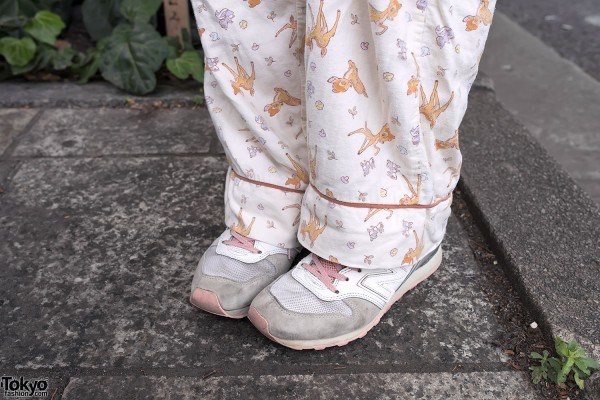Bambi Pajama Pants in Harajuku