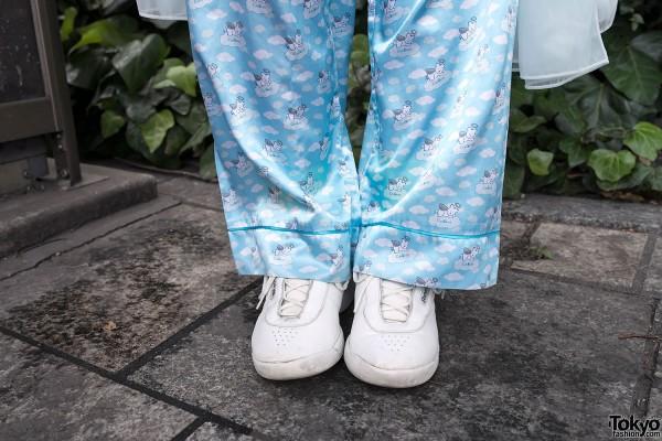 Pajama Pants in Tokyo