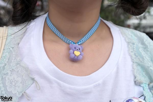 Kawaii Teddy Bear Necklace
