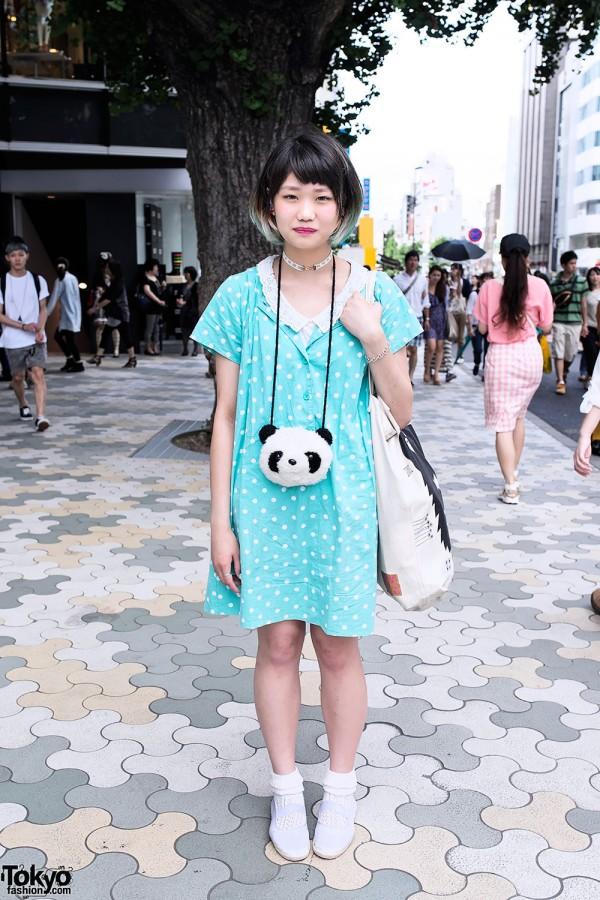 Polka Dots & Panda in Harajuku