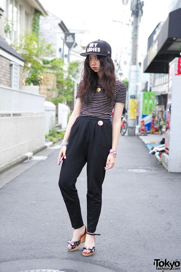 High Waist Murua Pants in Harajuku