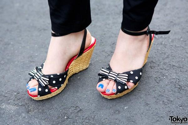 Sonia Rykiel wedge sandals