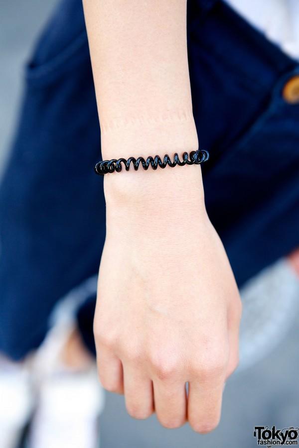 Plastic bracelet