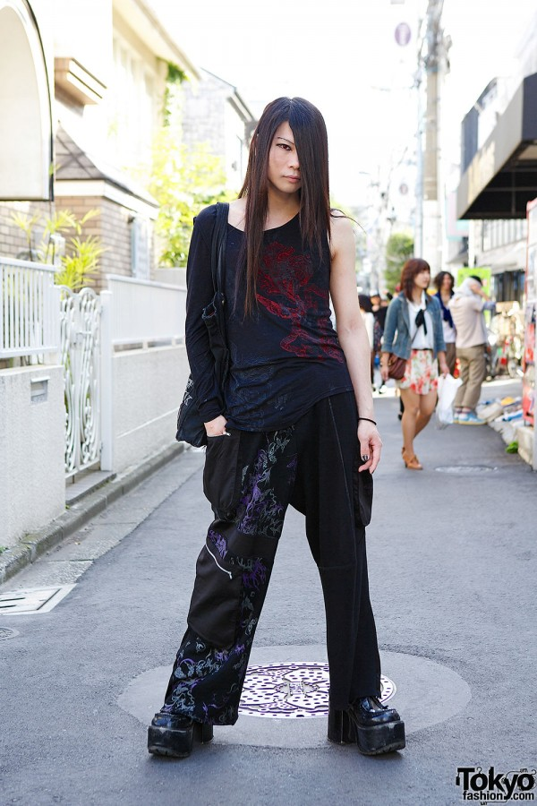 Visual Kei Fashion in Harajuku