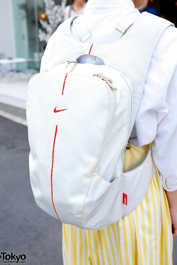 Nike backpack in Harajuku