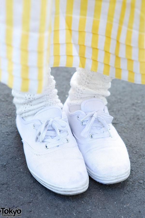 Resale sneakers in Harajuku