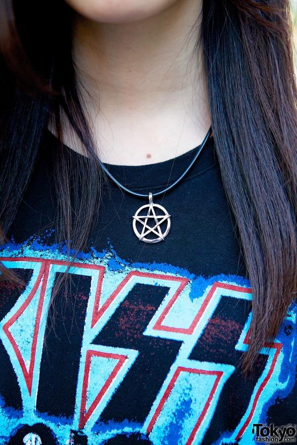 Nadia Harajuku star necklace