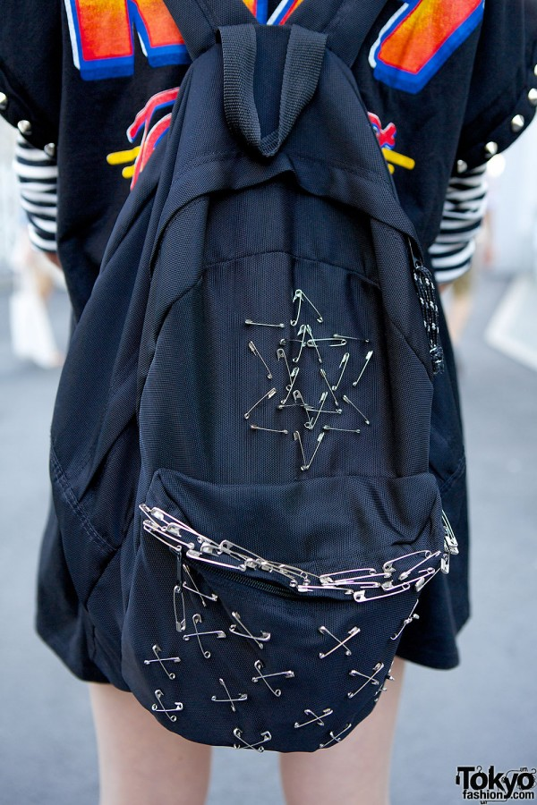 Safety Pins Backpack