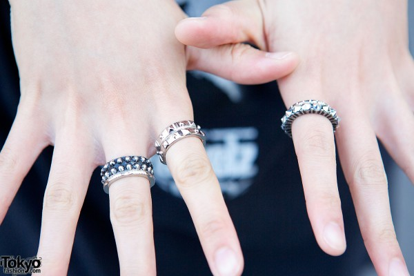 H&M Studded Rings