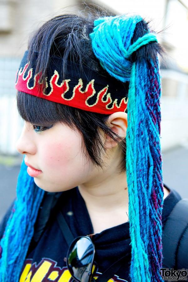 Flames Headband