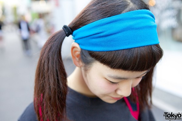 Headband & Twin Tails