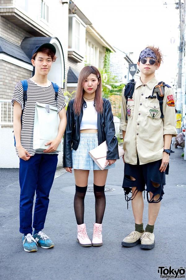 Nippon Beauty Academy Students' Harajuku Street Styles