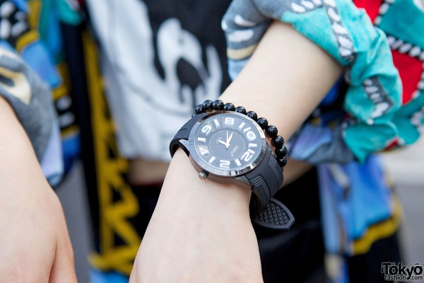 Black Sbao watch