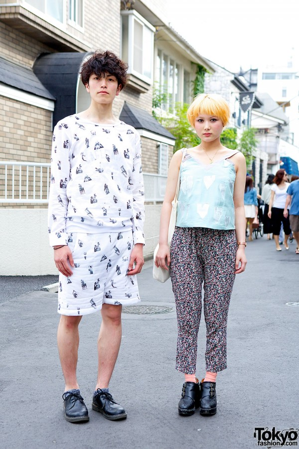 Harajuku Graphic Prints