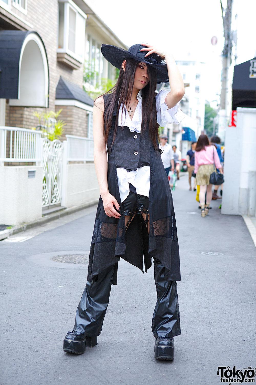 Harajuku Moi dix Mois Fan w/ h.NAOTO Hat, Yellow House & Sixh