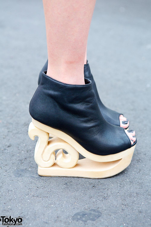 Cut Out Little Black Dress Amp Jeffrey Campbell Skate Shoes