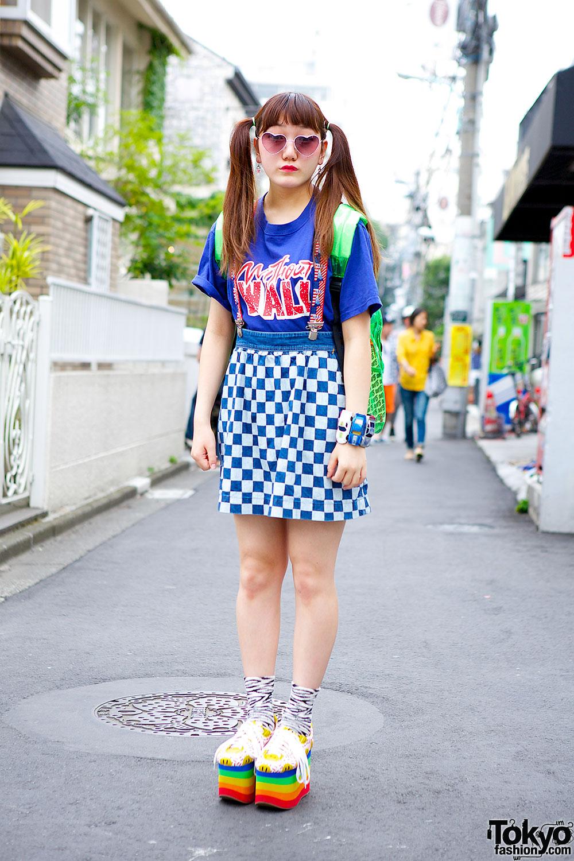 RNA checkered skirt