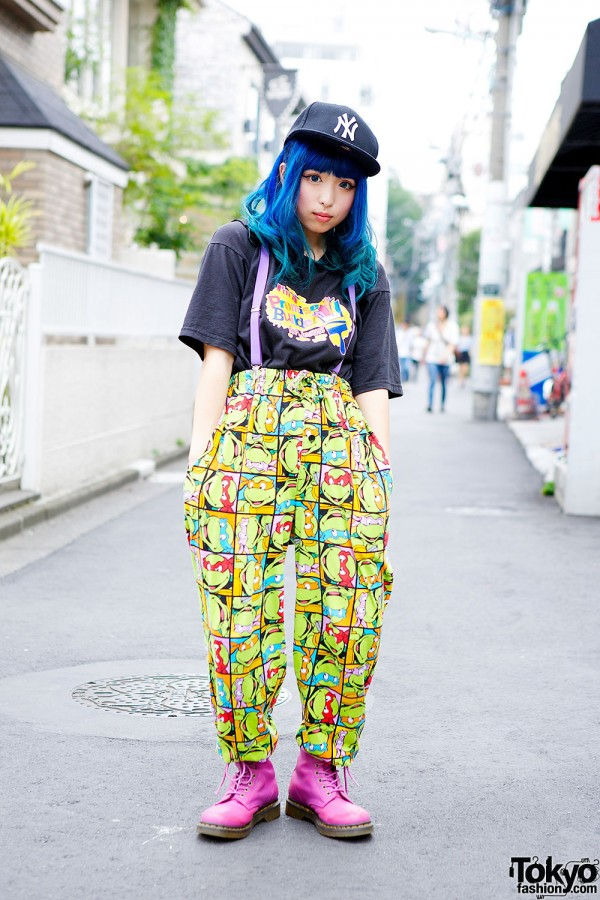 Mutant Ninja pajama pants