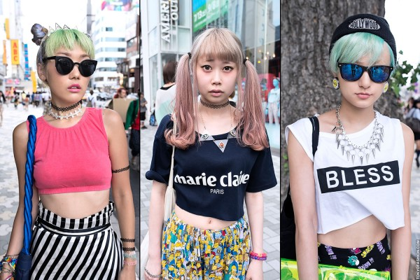 Japanese Crop Tops