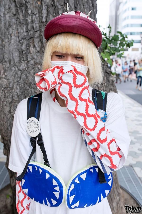 Graphic Harajuku Fashion & Spike Cap