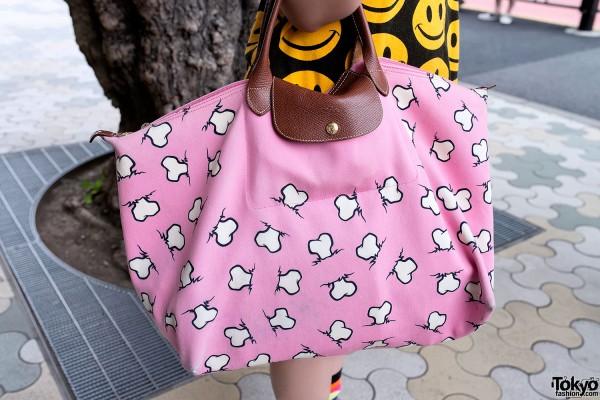 Jeremy Scott x Longchamp Bone Bag