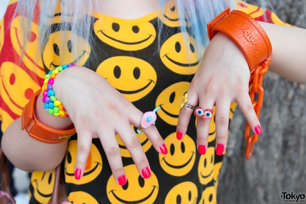 Smiley Face Fashion & Cute Rings