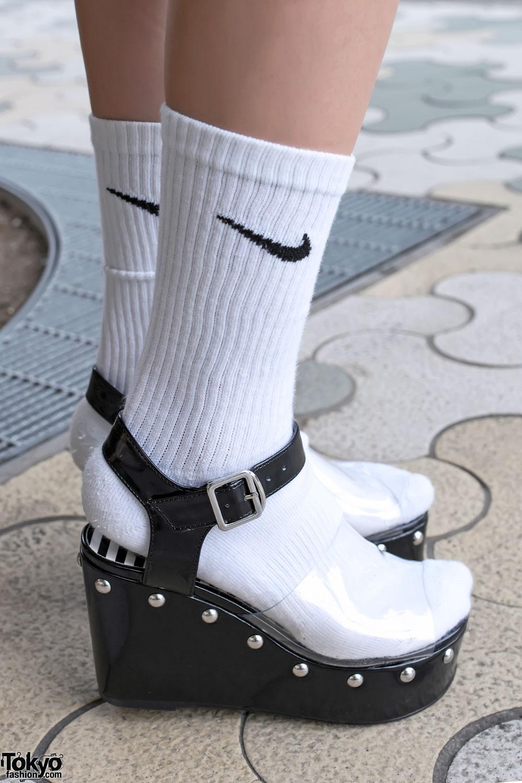 Sock And Platform Sandals Tokyo Fashion News
