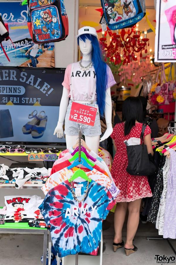 Japanese Street Fashion Trends – Summer 2013