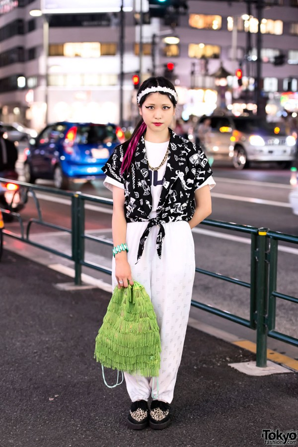 Harajuku Girl in Resale Fashion & Underground Creepers