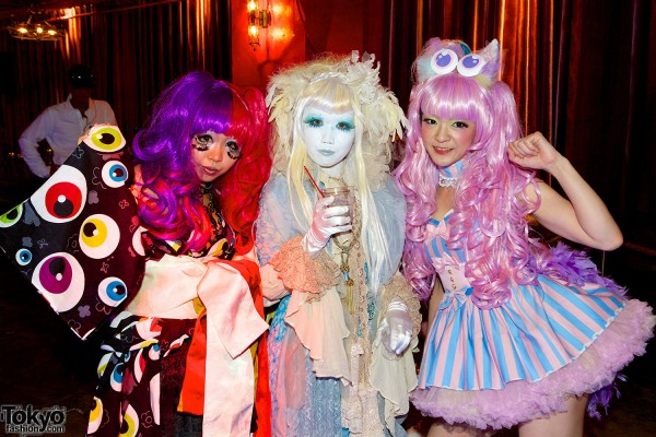 Kimono Fashion Show at Candy Pop Party in Tokyo