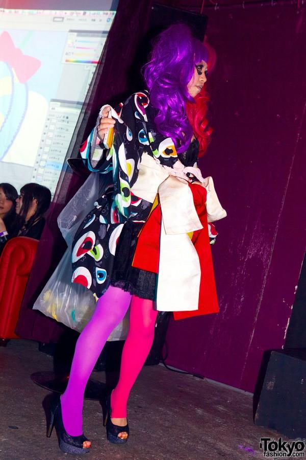 Kimono Fashion Show at Candy Pop Tokyo (27)