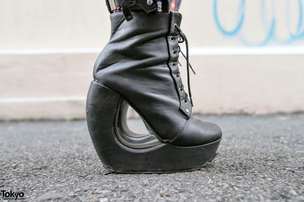 Dog Harajuku Platform Shoes