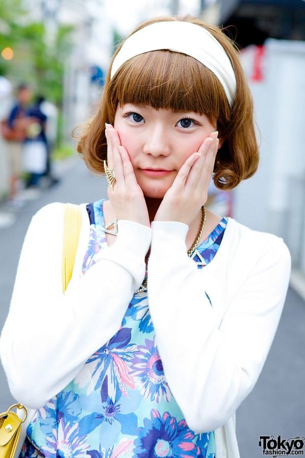Cute Harajuku Bob Hairstyle